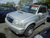SUZUKI GRAND VITARA 1978cc TURBO DIESEL AUTOMATIC 5 DOOR ESTATE, 2002-02