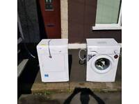 Brand new washing machine and vented dryer