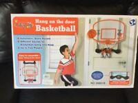 Brand New Basketball - Hang on the door - Unwanted Christmas Gift