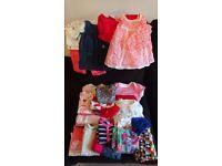 Girls clothes 3-6, 6-9, 9-12, 12-18 month bundels