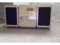 Sony stereo cassette player radio CMT DC1 model