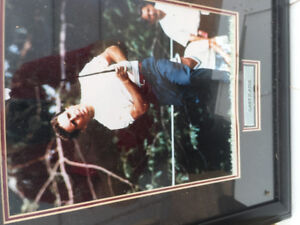 FRAMED  PICTURE OF GARY PLAYER-EXCELLENT SHAPE  $20.00