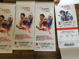 Billets coupe Rogers 2017 (homme)