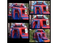 Bouncy Castle Hire,Disco Dome,Slides,Face Painting,Sweet Cones From £50. Call today 07903 639800