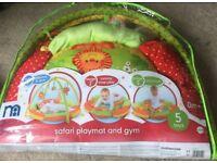 Safari play and and gym