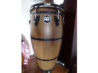 Meinl Headliner Traditional Series Congas - Walnut Brown - carry bag and stand
