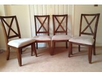 Quality high-back dining chairs