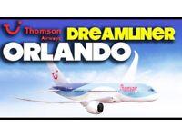 x2 thomson dreamliner tickets (orlando)