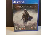 Shadow of Mordor - PS4 Playstation 4 - As New - £6