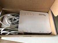Unlocked (to access line stats) hg612 modem for fttc fibre huawei vdsl for openreach