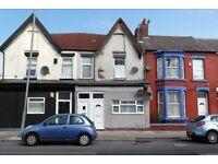 205 Boaler St. Kensington, Liverpool. Single bed GFF with GCH & DG, shower room. LHA welcome