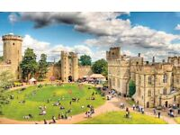 WARWICK-CASTLE-TWO-FAST-ENTRY-TICKETS-FRIDAY-4th-AUGUST-2017