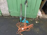 Electric Strimmer and hedge cutter