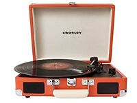 Excellent Condition - Crosley Record Player in Burnt Orange