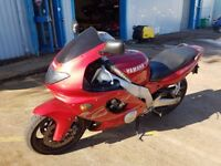 Yamaha YZF600R Thundercat - 1 Years Mot