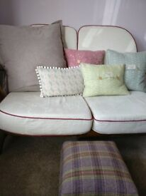 Ercol compact two seater sofa excellent condition
