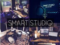 SMART STUDIO | Record & Rehearse (Website Available) Live Room, Vocal Booth - 50% OFF FIRST BOOKING