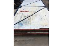 Heavy Large Steel Garage Doors