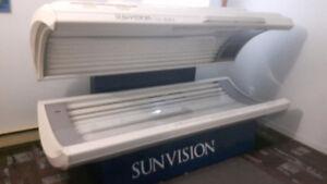 Lit de bronzage SunVision Elite
