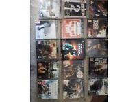 Ps3 120gb console with 2 controllers and 70 games