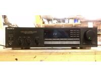 Sony STR-AV310 Integrated Stereo Receiver/Amplifier with phono stage