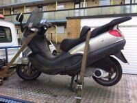 Piaggio x9 125cc spare repair