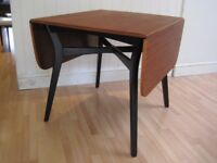 Stylish Retro E Gomme G Plan Drop Leaf Teak Kitchen / Dining Table from 1960s - Excellent Condition
