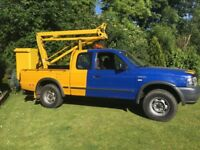 Ford Ranger 4x4 2006 54000 miles with cherry picker