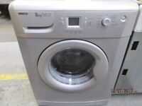 *+*+BeKo SILVER+A+A+8KG/1200 RPM/WASHING MACHINE/FULLY SERVICE/VERY CLEAN/FREE LOCAL DEL/OLD UPLIFT*