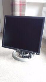 "Dell 19"" Flat LCD Monitor/Screen"