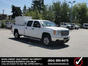 2014 GMC SIERRA 2500HD SLE CREW CAB LONG BOX 4X4