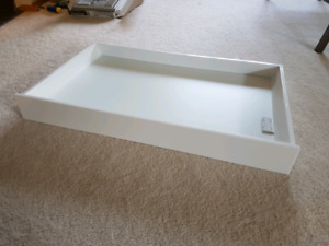 "Ikea 36"" Maximera drawer, low with Utrusta drawer front"