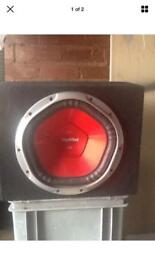 12 inch sony subwoofer in box - 1400 watts