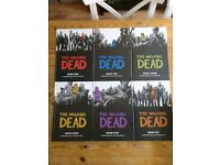 Walking Dead Hardback Volumes 1-6