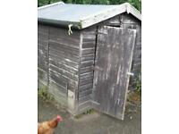 6x6 shed/allotment