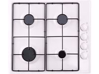 ESSENTIALS CGHOBW16 Gas Hob - White BRAND NEW HOB with grantee papers