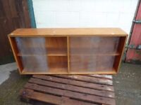 Double Glass display Sideboard Delivery Available £10
