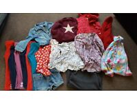 Girls 4-5 year clothes bundle