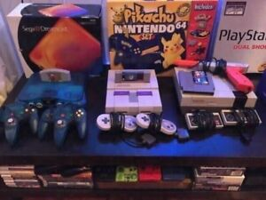 Buying all Video Games & Systems - Nintendo 64,SNES,GameCube