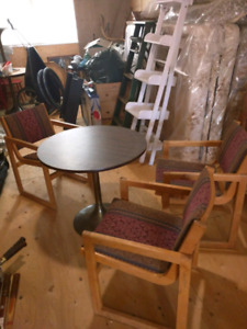 Free tables and chairs