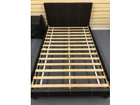 BRAND NEW SMALL DOUBLE BED (4FT wide)- COST £180!!