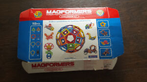 MAGFORMERS challenger set 112 pieces