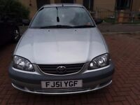 Toyota Avensis GS VVT-I, 2001, 1.8, 5dr, 114000 milage, MOT till Sept 2017, very reliable, good cond