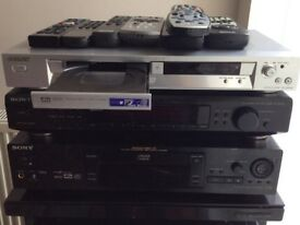 Sony Silver DVD/ CD/ Video Player