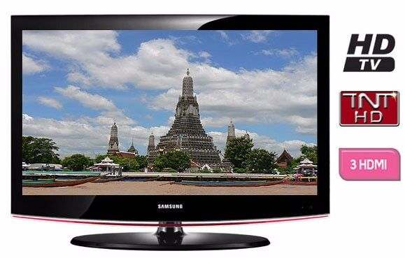 """Samsung 32"""" inch LCD TV HD Ready with Freeview Built in, 3 x HDMI + Free Local Delivery"""