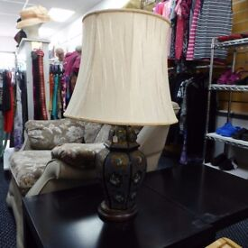 BEAUTIFUL LARGE LAMP LIGHT WITH SHADE