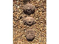 Various concrete garden ornaments all new
