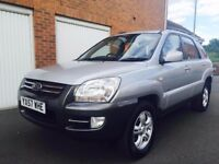 2007 * Kia Sportage *2.0l Diesel** Full MOT** Manual** Not Freelander**X-Trail**Navara