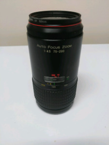 75-200mm with Macro A Mount lens