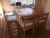 Dining Table & Chairs For Sale in E4